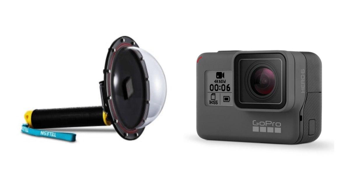 ドームポートとは?GoProとドームポートを使って水中撮影!