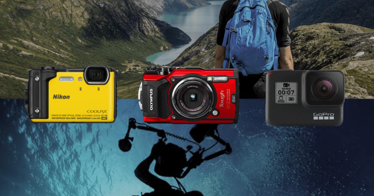 アウトドアには防水カメラを!人気のアウトドアカメラ5種類!
