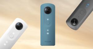 360度カメラ「Ricoh Theta」モデル別の価格とおすすめは?