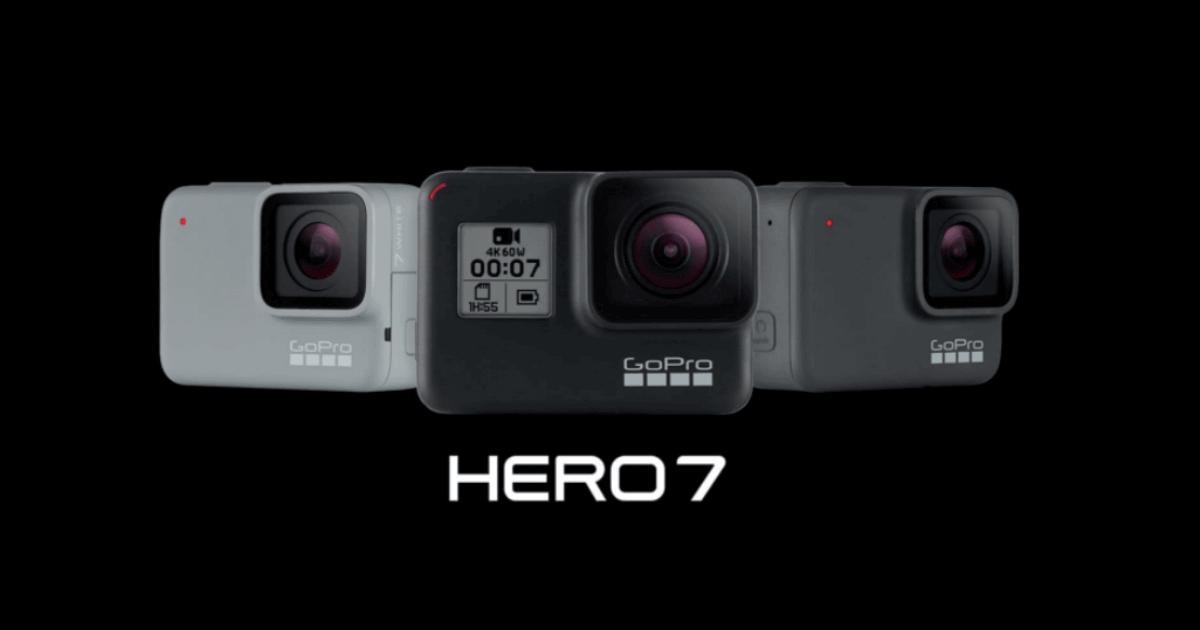 GoPro HERO7がついに発売!期待の新機能と3モデルの違いとは?
