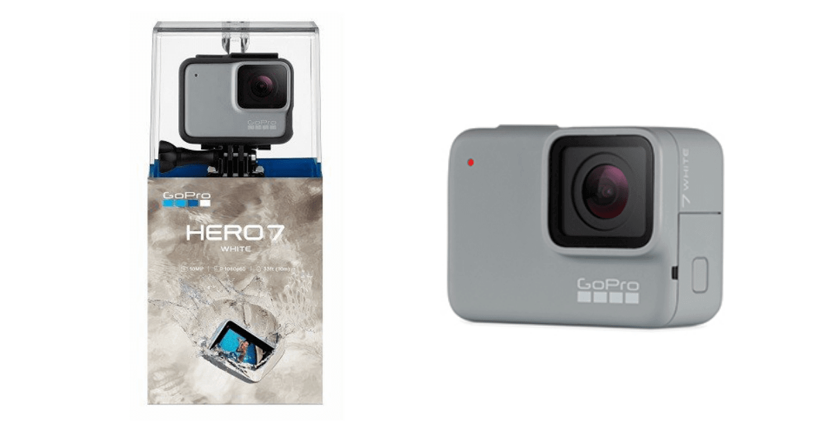 GoPro HERO7 White購入のメリットとデメリット