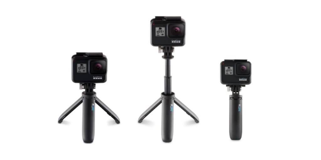 GoPro Shortyは自撮り棒にも三脚にもなる超便利なマウント