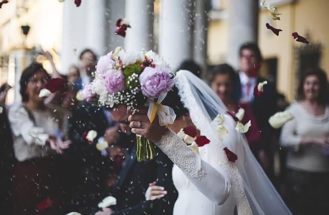 結婚式などのイベント