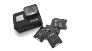 GoProにおすすめのmicroSDカードって?選び方を詳しく解説!